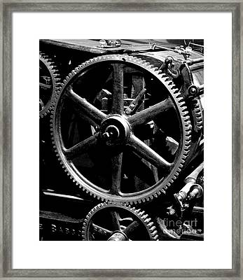 Industrial Revolution Bw 1 Framed Print by Chalet Roome-Rigdon