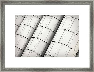 Storage Tanks Framed Print by Todd Klassy