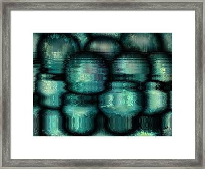 Industrial View Framed Print by Rafi Talby