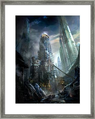 Industrialize Framed Print by Philip Straub