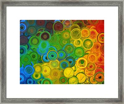 Infinity Framed Print by Georgiana Romanovna