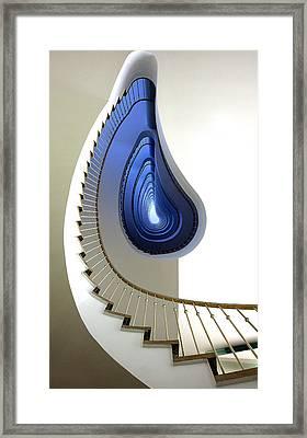 Infinity Steps Framed Print by Martin Widlund