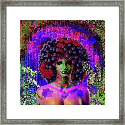 Influenza She Has Gone Viral Framed Print by Joseph Mosley