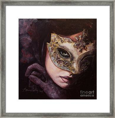 Ingredient Of Mystery  Framed Print by Dorina  Costras
