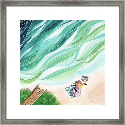 Inhale, Exhale Framed Print by Stephie Jones