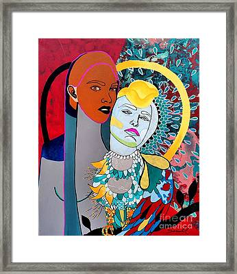 Inhaled Soul Framed Print by Amy Sorrell