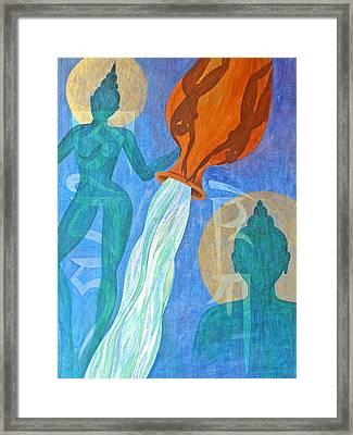 Initiation Framed Print by Jennifer Baird