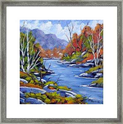 Inland Water Framed Print by Richard T Pranke