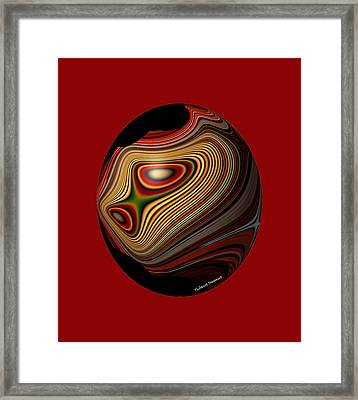 Inner Galaxy Framed Print by Thibault Toussaint