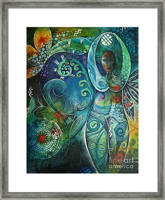 Inner Goddess 1 Framed Print by Reina Cottier