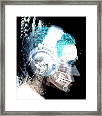 Inner Rythem Framed Print by Bear Welch