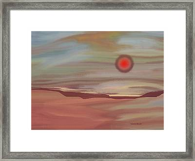 Inner World Framed Print by Lenore Senior