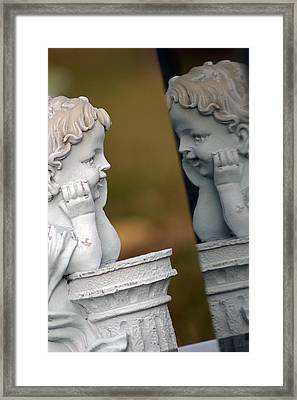 Innocence Reflected Framed Print by Off The Beaten Path Photography - Andrew Alexander