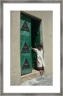 Innocence Framed Print by Sunaina Serna Ahluwalia