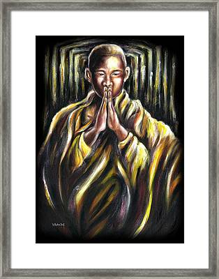 Inori Prayer Framed Print by Hiroko Sakai