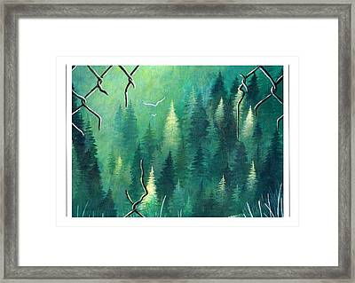Inside Dreaming Out Framed Print by Sarah Lammin
