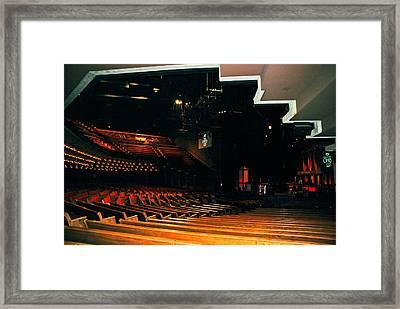 Inside Grand Ole Opry Nashville Framed Print by Susanne Van Hulst