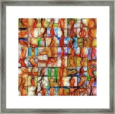 Inside The Seraglio #2 Framed Print by John Pullicino