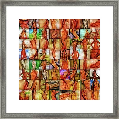 Inside The Seraglio #3 Framed Print by John Pullicino
