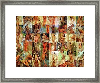 Inside The Seraglio #6 Framed Print by John Pullicino