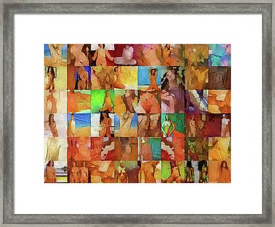 Inside The Seraglio #7 Framed Print by John Pullicino