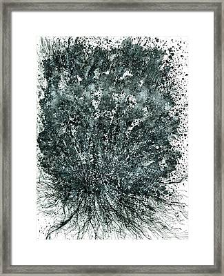 Insights From The Infinite Intelligence #652 Framed Print by Rainbow Artist Orlando L aka Kevin Orlando Lau