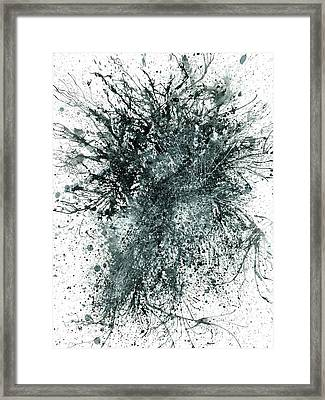 Insights From The Infinite Intelligence #653 Framed Print by Rainbow Artist Orlando L aka Kevin Orlando Lau