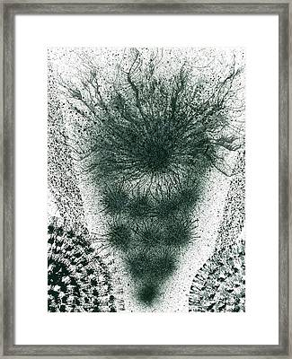 Insights From The Infinite Intelligence #654 Framed Print by Rainbow Artist Orlando L aka Kevin Orlando Lau
