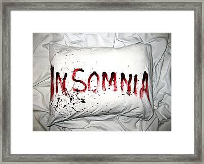 Insomnia Framed Print by Nicklas Gustafsson
