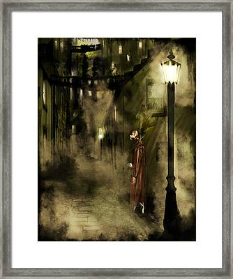Inspector Hook Framed Print by Mandem