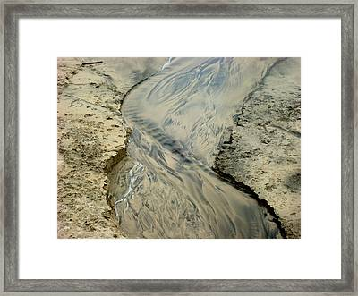Inspiration By Sand Framed Print by YT Photo