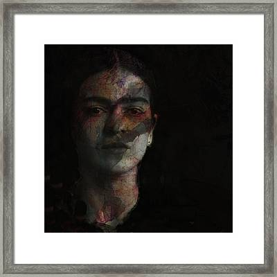 Inspiration Frida Kahlo  Framed Print by Paul Lovering