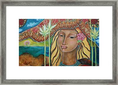 Inspired Framed Print by Shiloh Sophia McCloud