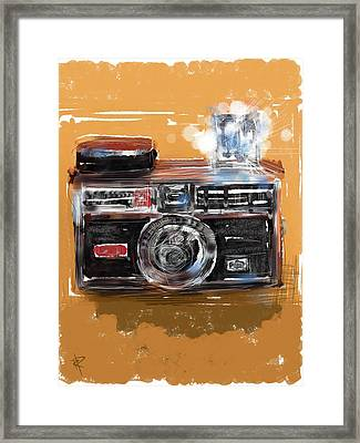 Instamatic Framed Print by Russell Pierce