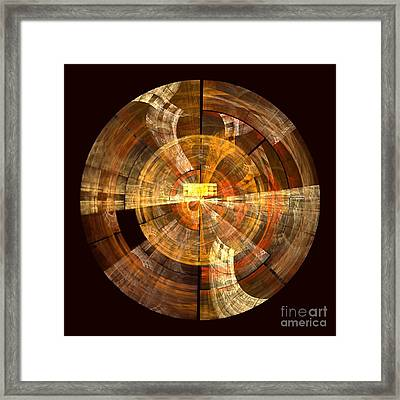 Integrity Framed Print by Oni H