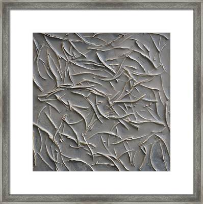 Interact Framed Print by Susie Frazier