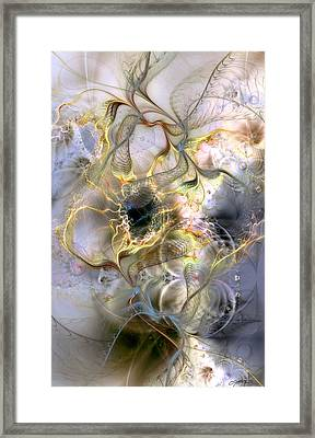 Interconnectedness Of Life Framed Print by Casey Kotas