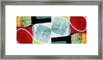 Intersection 37 Part 2- Art By Linda Woods Framed Print by Linda Woods