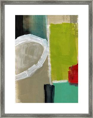 Intersection 39 Framed Print by Linda Woods