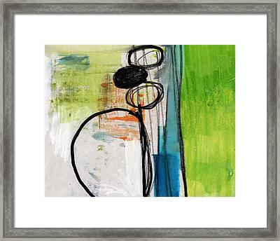Intersections #34 Framed Print by Linda Woods