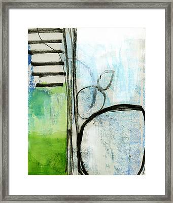 Intersections #35 Framed Print by Linda Woods