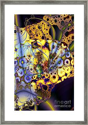 Intertwined Framed Print by Ron Bissett