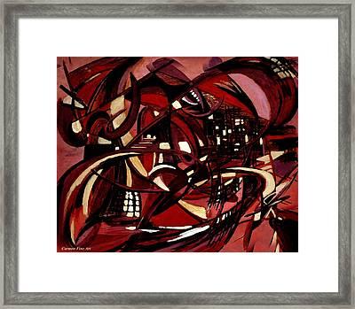 Intimate Still Life With Incidental Intensity Framed Print by Carmen Fine Art