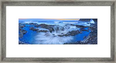 Into The Blue - Craigbill.com - Open Edition Framed Print by Craig Bill