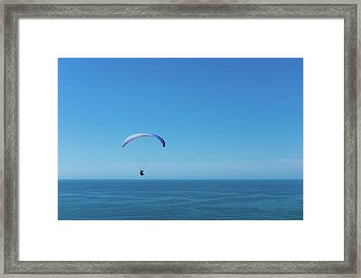 Into The Blue Framed Print by Joseph Smith