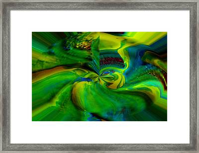 Into The Crazy Feet First Framed Print by Jeff Swan