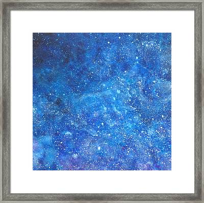 Into The Deep # 1 Framed Print by Adrienne Martino