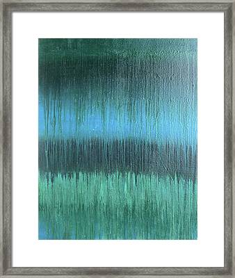Into The Deep Framed Print by Alexia Neves
