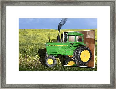 Into The Fields Framed Print by Shane Bechler