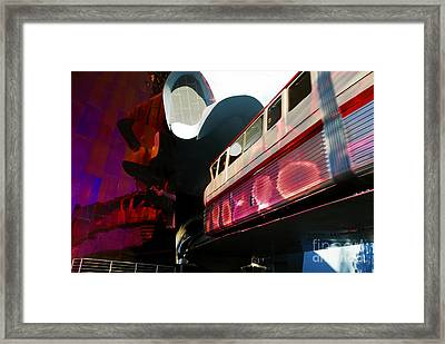 Into The Future Framed Print by David Lee Thompson